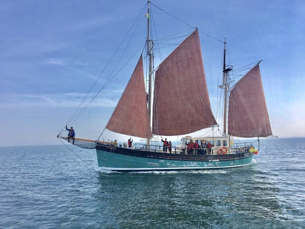 Image for FULL DAY- Private tour on a tall ship (up to 12 people)