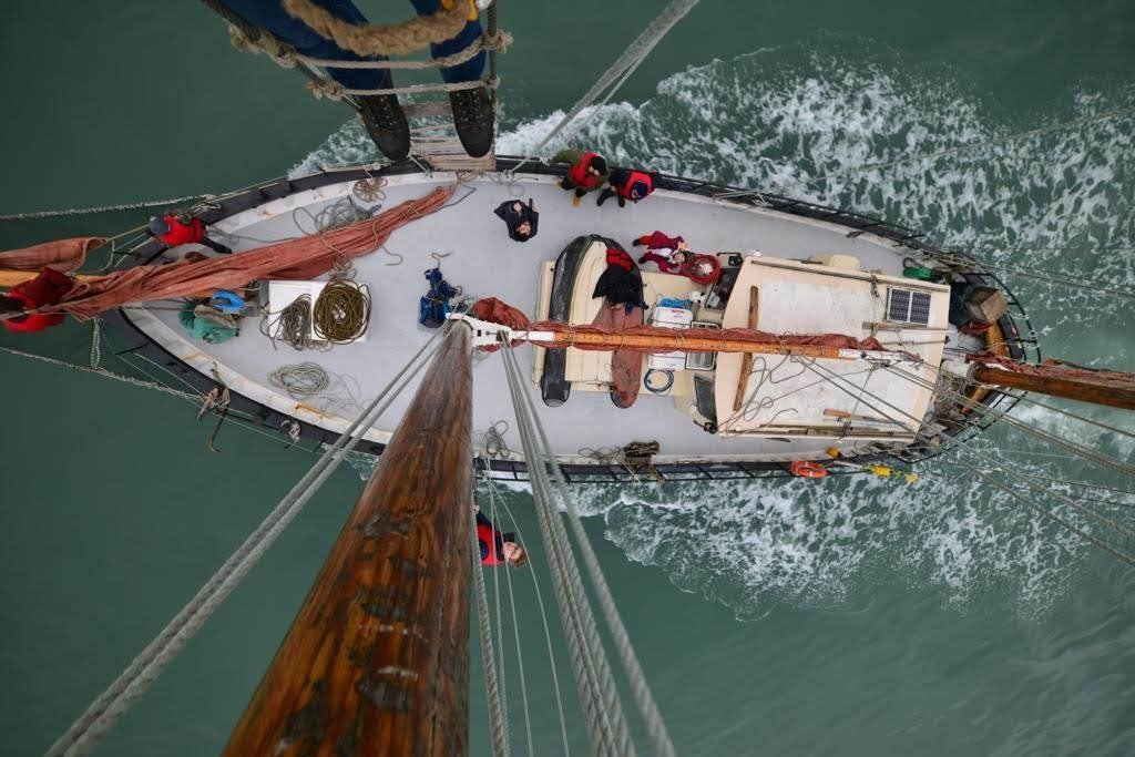 Image for HALF DAY SAIL - Private tour of Dublin bay on a tall ship (up to 12 people)